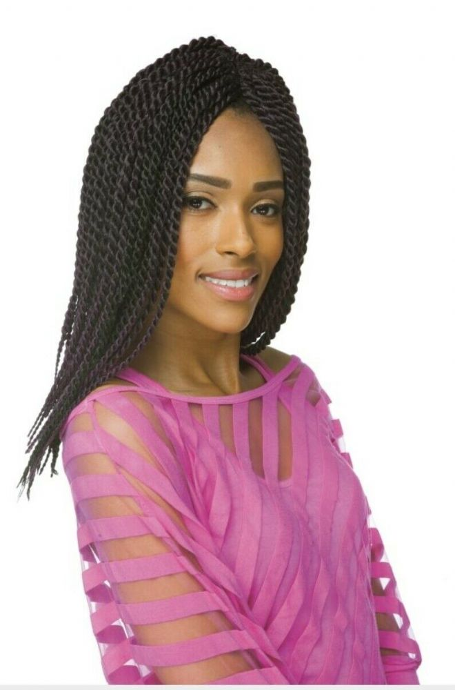 IMPRESSION SENEGALESE TWIST CROCHET HAIR EXTENSIONS (LARGE)